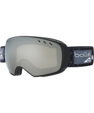 Bolle 21434 Virtuose Black and Grey Iceberg - Black Chrome Ski Goggles with Spare Lemon Gun Lens