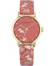 Radley RY2368 Ladies Fleet Street Papaya Leather Strap Watch