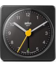 Braun BNC002BKBK Square Alarm Clock - Black