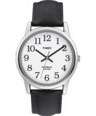 Timex T20501 Mens White Black Easy Reader Watch