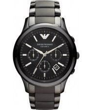 Emporio Armani AR1452 Mens Ceramic Black Chronograph Watch