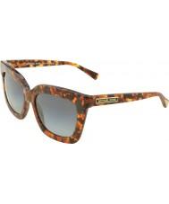 Michael Kors MK2013 53 Glam Brown Tortoiseshell 3066T3 Polarized Sunglasses