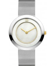 Danish Design V65Q1033 Ladies Silver Steel Mesh Bracelet Watch