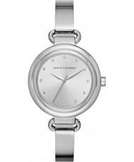 Armani Exchange AX4239 Ladies Dress Silver Steel Bracelet Watch