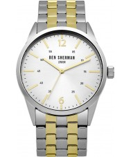 Ben Sherman WB060GSM Mens Two Tone Steel Bracelet Watch