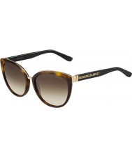 Jimmy Choo Ladies Dana-S 112 JD Havana Sunglasses