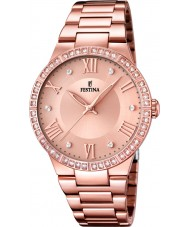 Festina F16721-2 Ladies Rose Gold Plated Watch
