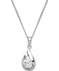 Purity 925 PUR3836P Ladies Necklace