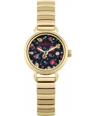 Cath Kidston CKL016GM Ladies Little Flower Buds Gold Plated Bracelet Watch