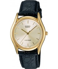 Casio MTP-1154PQ-7AEF Mens Collection Black Leather Strap Watch