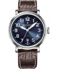 Dreyfuss and Co DGS00153-52 Mens 1924 Brown Leather Strap Watch