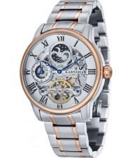 Thomas Earnshaw ES-8006-33 Mens Longitude Two Tone Bracelet Automatic Watch
