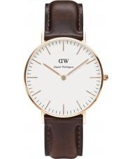 Daniel Wellington DW00100039 Ladies Classic Bristol 36mm Rose Gold Watch