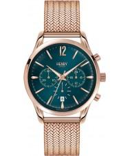 Henry London HL39-CM-0142 Ladies Stratford Mallard Green Rose Gold Chronograph Watch