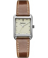 Watches Barbour Ladies Dryden Brown Leather Strap Watch
