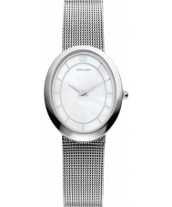 Danish Design V62Q995 Ladies Silver Steel Mesh Bracelet Watch