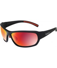 Bolle Bounty Matt Black Polarized TNS Fire Sunglasses
