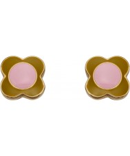 Orla Kiely E5434 Ladies Daisy Earrings