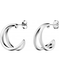 Calvin Klein KJ6VME000100 Ladies Outline Earrings