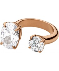 Dyrberg Kern 336838 Ladies Fina III Rose Gold Plated Ring