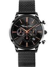 Thomas Sabo WA0247-202-203-42mm Mens Eternal Black IP Steel Chronograph Watch