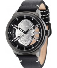 Police 14685JSB-61 Mens Predator Black Leather Strap Watch