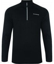 Dare2b DML307-80090-XXL Mens Persevere Black Stretch Midlayer - Size XXL