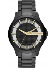 Armani Exchange AX2192 Mens Dress Black Steel Bracelet Watch