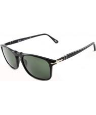 Persol PO3059S 54 Suprema Black 95-31 Sunglasses