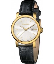Wenger 01-1021-119 Ladies Urban Vintage Black Leather Strap Watch