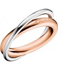 Calvin Klein Ladies Double Ring