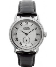Rotary GS02424-21 Mens Timepieces Sherlock Holmes Silver Black Watch
