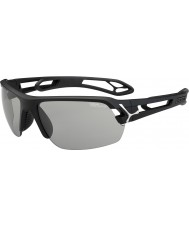 Cebe S-Track Medium Matt Black Variochrom Perfo Sunglasses