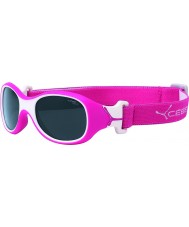 Cebe Chouka (Age 1-3) Raspberry Sunglasses