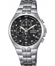 Festina F6843-4 Mens Chronograph Silver Steel Chronograph Watch