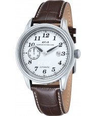 AVI-8 AV-4017-01 Mens Hawker Hurricane Brown Leather Strap Watch