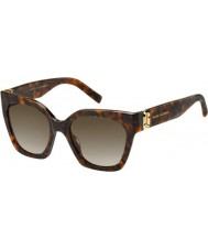 Marc Jacobs Ladies MARC 182-S 086 HA Sunglasses