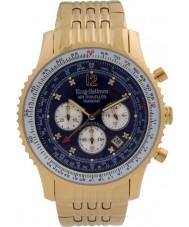 Krug Baümen 600104DS Mens Air Traveller Diamond Watch