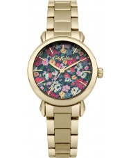 Cath Kidston CKL018GM Ladies Mew Ditsy Gold Plated Bracelet Watch
