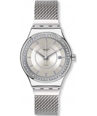 Swatch YIS406GB Sistem Stalac S Silver Steel Bracelet Watch