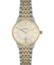 Dreyfuss and Co DLB00135-41 Ladies 1980 Two Tone Steel Bracelet Watch