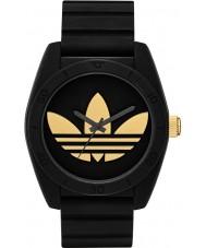 Adidas ADH2912 Santiago Black Silicone Strap Watch