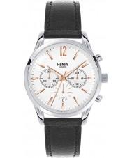 Henry London HL39-CS-0009 Highgate White Black Chronograph Watch