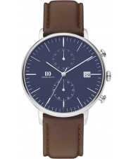 Danish Design Q42Q975 Mens Brown Chronograph Watch