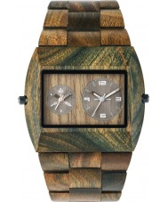 WeWOOD JUPARMYRS Mens Jupiter Army Wood Bracelet Watch