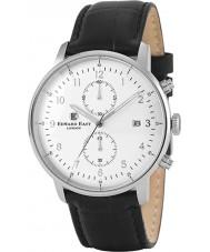 Edward East EDW1901G7 Mens Black Leather Chronograph Watch