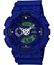 Casio GA-110HT-2AER Mens G-Shock World Time Blue Combi Watch