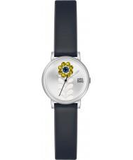 Orla Kiely OK2047 Ladies Valentina Black Leather Strap Watch