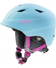 Uvex 5661324403 Airwing Pro Blue Ski Helmet - 52-54cm