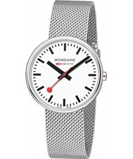 Mondaine A763-30362-11SBM Mini Giant Silver Steel Mesh Bracelet Watch